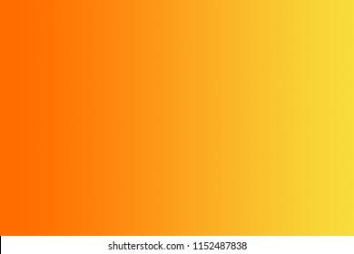 Gradien of Orange-Yellow background