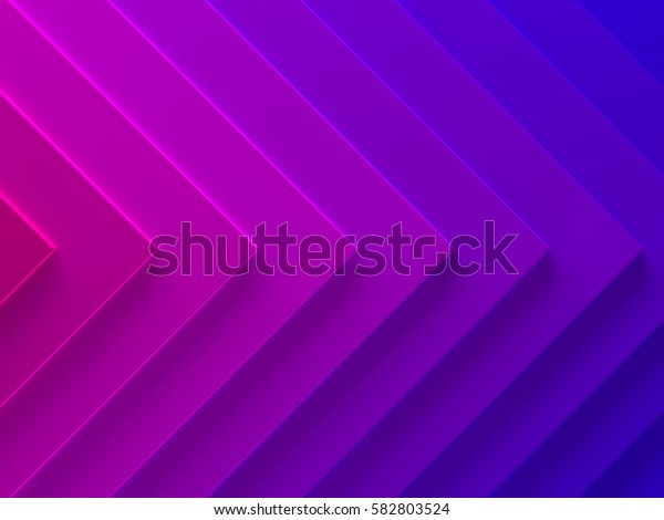 Gradient abstract background. This pattern works for text backgrounds, web design, print or mobile application. 3D illustration.