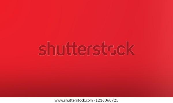 Gradient Alizarin Crimson Red Color Classic Stock