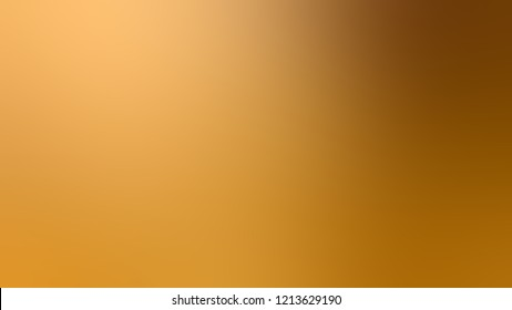 Gradient with Anzac Brown Golden Saddle color. Modern texture background, degrading fragments, smooth shape transition and changing shade.
