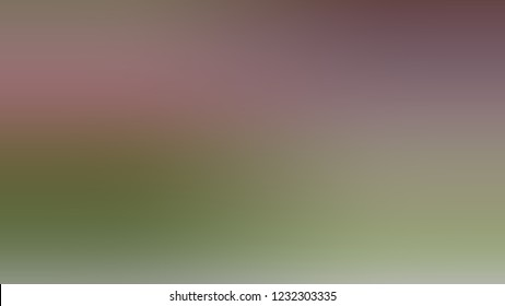 Gradient with Arrowtown, Grey, Kokoda, Green color. Blank modern texture background with smooth transition of shades and color degradation.
