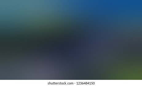Gradient with Arsenic, Grey, Blumine, Blue color. Classic simple blurred background with smooth transition of shades.