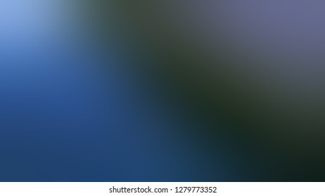 Gradient with Arsenic, Grey, Resolution Blue color. Chaos of color and hue. Background with smooth color degradation. Template for journal or book cover.