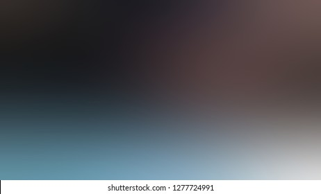 Gradient with Arsenic, Grey, Zambezi, Brown color. Classic and appealing blurred background for web and mobile apps.