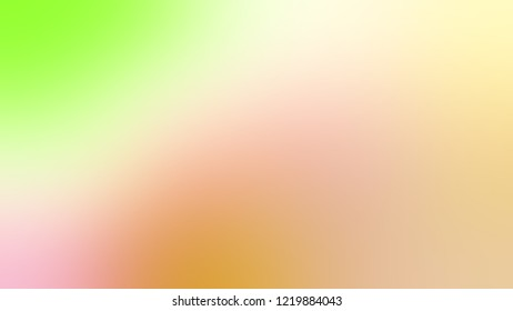 Gradient with Astra, Brown, Banana Mania, Yellow color. Clean and appealing blurred background with smooth color transition.