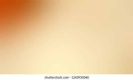 Gradient with Astra, Brown, Golden Bell, Orange color. Beautiful simple defocused background for announcement or commercials.