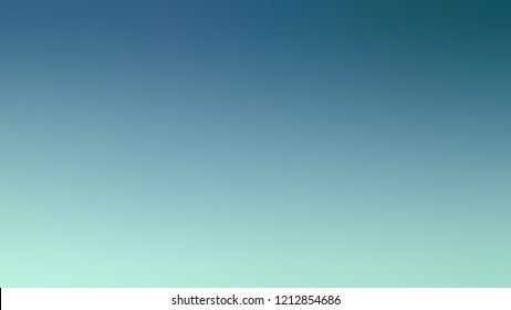 Gradient with Astral Blue Sinbad Green Shakespeare color. Modern texture background, degrading fragments, smooth shape transition and changing shade.