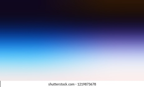 Gradient with Astronaut, Blue, Solitude color. Abstract blurred background with smooth color transition. Minimalism. Template with changing shades and with place for text.