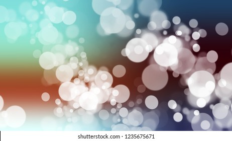 Gradient background with bokeh effect and Light Grey, Sinbad, Green color. Blend simple defocused background for announcement or commercials.