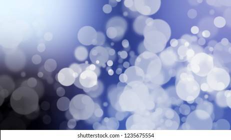 Gradient background with bokeh effect and Periwinkle, Blue, Chetwode color. A very simple abstract background for banner or presentation.