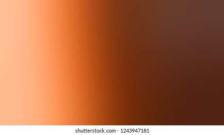 Gradient with Baker's Chocolate, Brown, Macaroni And Cheese, Orange color. Beautiful and awesome blurred background for web and mobile apps.