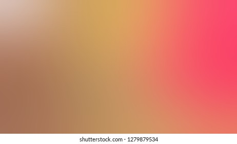 Gradient with Barley Corn, Brown, Bittersweet, Orange color. Chaos of color and hue. Background with a smooth transition of colors and shades. Screen template for software.