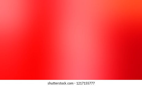 Gradient with Bittersweet, Orange, Alizarin Crimson, Red color. Beautiful and ambiguous backdrop with a smooth transition of colors.