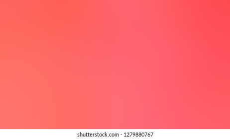 Gradient with Bittersweet, Orange color. Simplicity and purity. Blurred with color degradation. Model of blurred backdrop for banner or business presentation.
