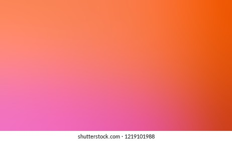 Gradient with Bittersweet, Orange, Hot Pink color. Clean simple defocused background for announcement or commercials.