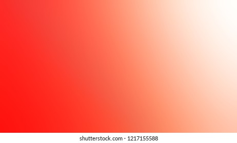 Gradient with Bittersweet, Orange, Melon, Pink color. Beautiful very simple abstract background for banner or presentation.