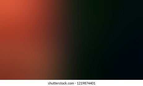 Gradient with Black, Crab Apple, Red color. Simple defocused background with color transition. Template with changing shades and with place for text.