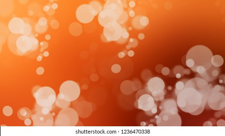 Gradient with bokeh effect, glare and Chocolate, Brown, Quicksand color. Abstract blurred background with smooth color transition. Minimalism. Template with changing shades.