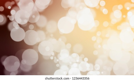 Gradient with bokeh effect, glare and Quarter Spanish White, Grey, Astra, Brown color. Beautiful and appealing blurred background with smooth color transition.
