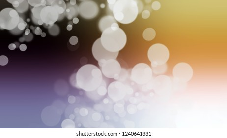 Gradient with bokeh effect and Mercury, Grey, Sundance, Brown color. Blend simple blurred background with smooth transition of shades.