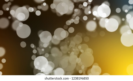 Gradient with bokeh effect and Shadow, Green, Mikado, Brown color. Clean simple smeared background for websites and mobile apps.