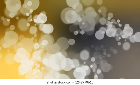 Gradient with bokeh effect, sparkle and Arrowtown, Grey, Horses Neck, Brown color. Raster simple blurred background for desktop and mobile phone. Template with changing shades.