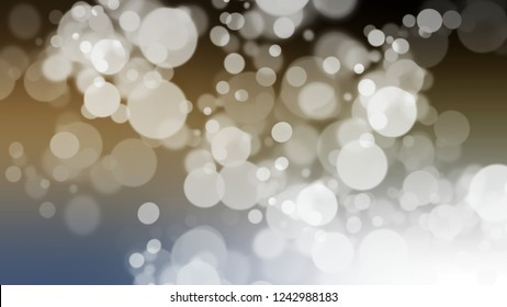 Gradient with bokeh effect, sparkle and Arrowtown, Grey, Nickel, Green color. Raster simple defocused backdrop for ads or commercials. Template with changing shades.
