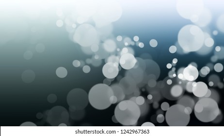 Gradient with bokeh effect, sparkle and Conch, Grey, Arsenic color. Beautiful modern blurred background as a artwork. Template with changing shades.