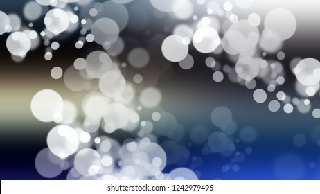 Gradient with bokeh effect, sparkle and Light Grey, Port Gore, Blue color. Blend simple blurred background with smooth transition of shades.