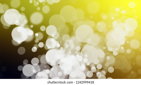 Gradient with bokeh effect, sparkle and Loafer, Grey, Sundance, Brown color. Blank simple modern blurred background with color degradation.