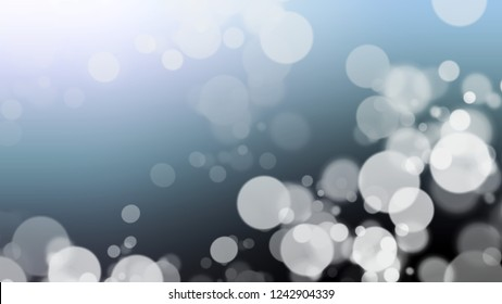 Gradient with bokeh effect, sparkle and Nepal, Blue, Arsenic, Grey color. Blank modern blurred background as a work of artistic.