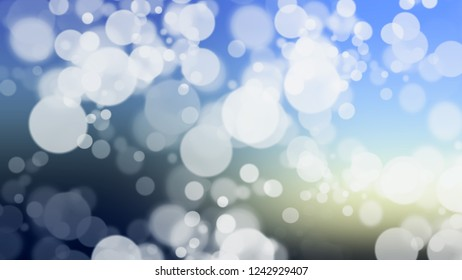 Gradient with bokeh effect, sparkle and Periwinkle, Blue, Port Gore color. Blank modern defocused background as a work of art.