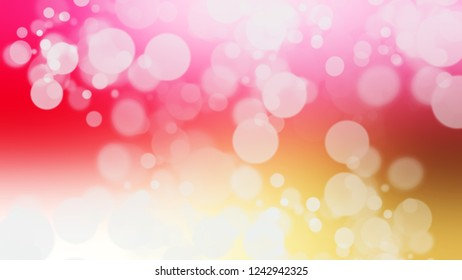 Gradient with bokeh effect, sparkle and Pink, Hint Of Red, Grey color. Clean simple defocused background for ads or commercials. Template with changing shades.