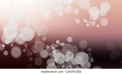 Gradient with bokeh effect, sparkle and Pot Pourri, Brown, Quicksand color. Blank and appealing blurred background for web and mobile apps.