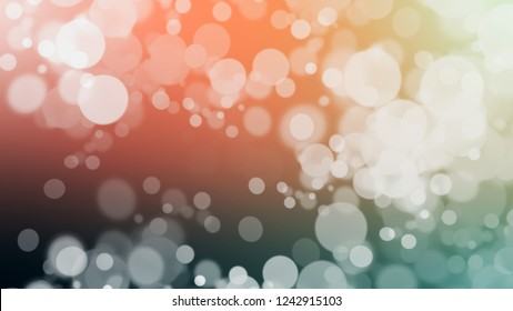 Gradient with bokeh effect, sparkle and Quicksand, Brown, Merino, Grey color. Raster simple defocused background for announcement or commercials.