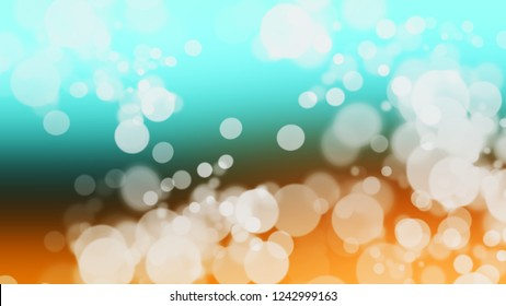 Gradient with bokeh effect, sparkle and Sinbad, Green, Spanish White, Brown color. Blend and awesome simple modern blurred background with color degradation.