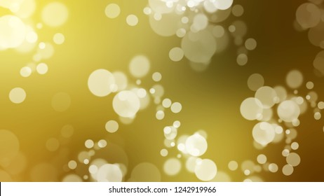 Gradient with bokeh effect, sparkle and Sundance, Brown, Raw Umber color. Classic abstract blurred background with smooth color transition. Minimalism.