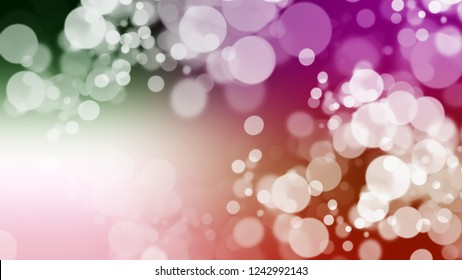 Gradient with bokeh effect, sparkle and Swiss Coffee, Grey, Quicksand, Brown color. Clean simple blurred background for desktop and mobile phone. Template with changing shades.