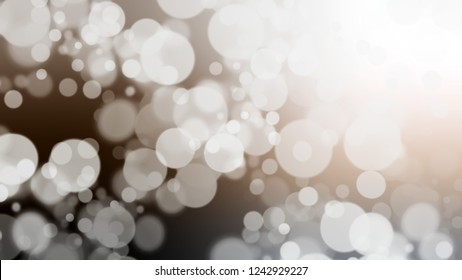 Gradient with bokeh effect, sparkle and Vista White, Grey, Arrowtown color. Classic simple defocused and blurred background with the transition colors for advertising.