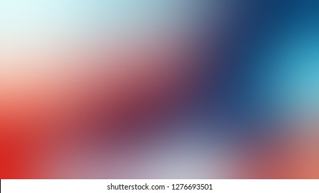 Gradient with Bouquet, Violet, Matisse, Blue color. Chaos of color and hue. Background without focus. Template for app or application.