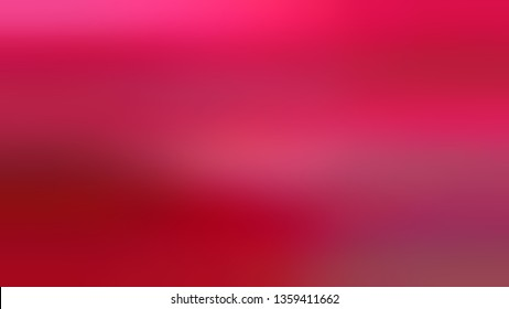 Gradient with Bright Medium, Rich Magenta, Maroon, Carmine color. Calm and awesome blurred background with colorful shades. Template for label design.