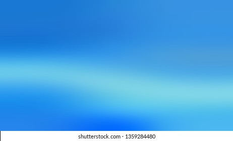 Gradient with Bright Navy Blue color. Artistic and decorative blurred background with smooth change of colors and shades. Wallpaper on the desktop computer.