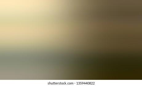 Gradient with Brown, Beige, Dark Pale Green color. Bizarre and bitmap blurred background without focus. Template for journal or book layout.