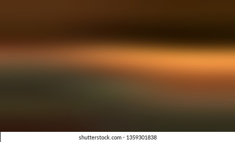 Gradient with Brown, Green, Dark Grey color. Bizarre and bitmap blurred background with smooth change of colors and shades. Wallpaper on the desktop computer.