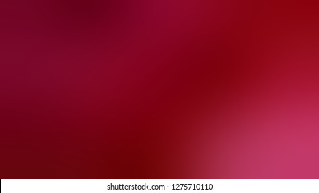 Gradient with Burgundy, Red, Alabama Crimson color. Beautiful raster blurred background. Template and wallpaper to the screen of a cellphone.