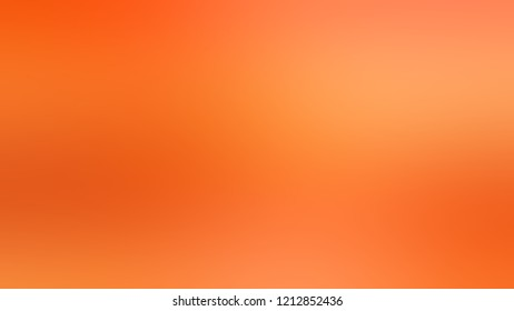 Gradient with Burnt Orange Pumpkin Sunshade color. Modern texture background, degrading fragments, smooth shape transition and changing shade.