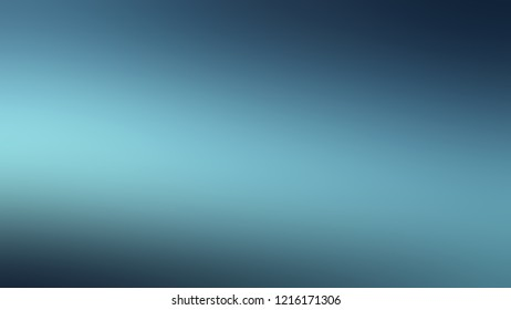Gradient with Cadet Blue, Matisse color. Simple modern blurred background with color degradation.