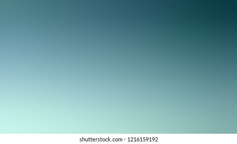 Gradient with Cadet Blue, Shadow Green color. Simple defocused backdrop with color transition.
