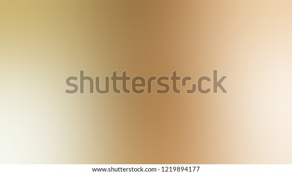 Gradient Calico Brown Spanish White Color Stock Illustration