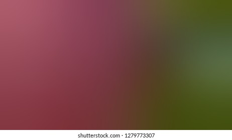 Gradient with Camelot, Red, Army green color. Gaussian drawing as a work of art. Background with colorful shades. Template for the header on the cover of magazine or book.